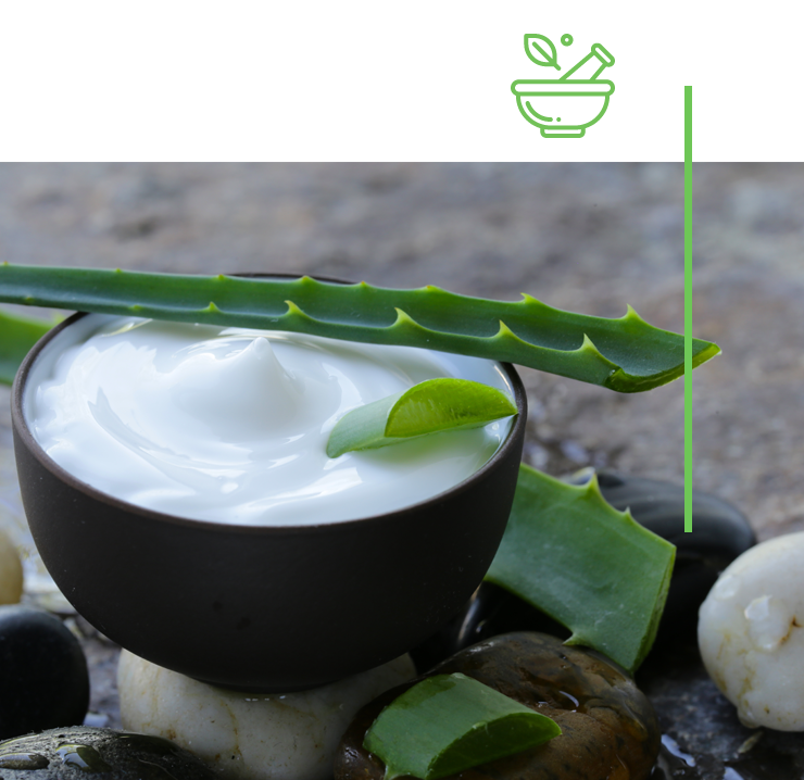 Produits cosmétiques à base de plantes